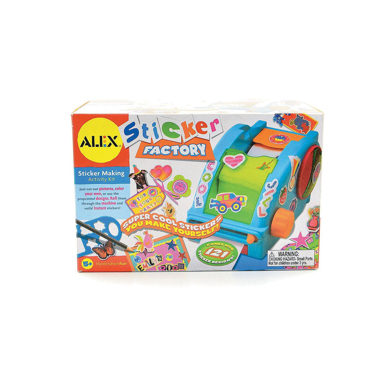 Alex toys sticker maker orientaltrading com