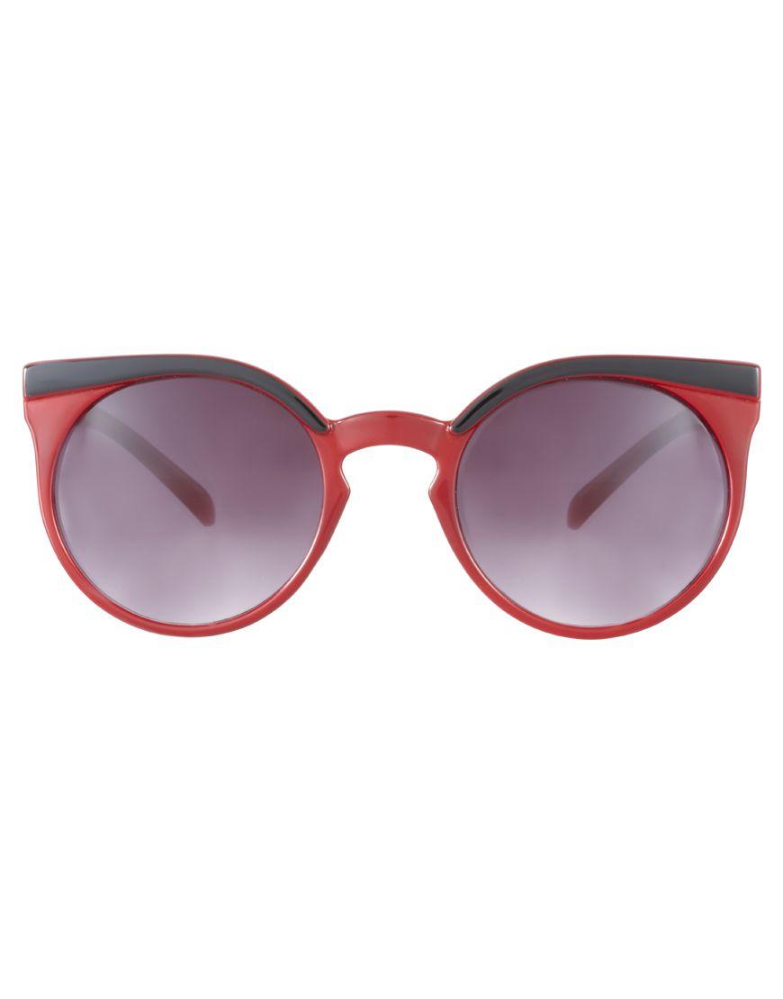 cat eye glasses image | ... › Dama › Ochelari de soare › ASOS Highbrow Cat Eye Sunglasses