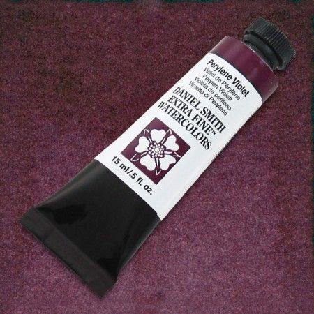 Extra Fine Watercolor, Perylene Violet, 15 ml. by Daniel Smith - Cheap Joe's Art Stuff