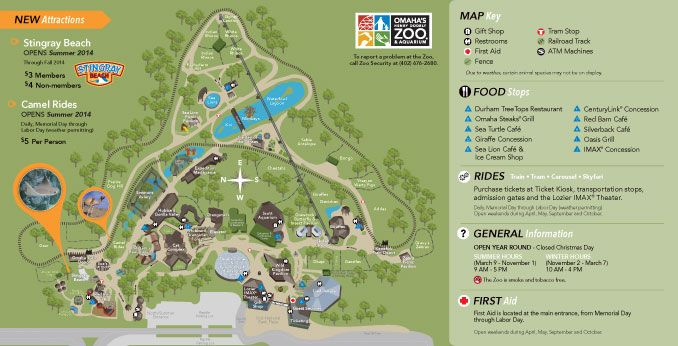Omaha Zoo Map Zoo Map | Omaha's Henry Doorly Zoo | Entertainment in Omaha