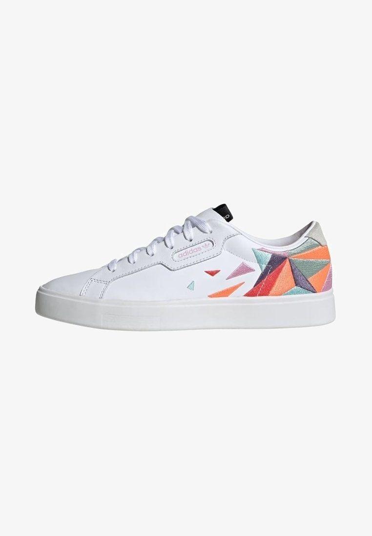 ADIDAS SLEEK SHOES Sneakers laag white @ Zalando.nl