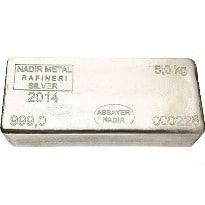 Nadir 5 Kg Silver Bar Vat Free Silver Bars Silver Silver Bullion