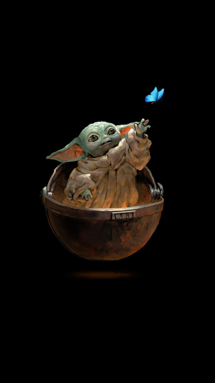 "The child ""Baby Yoda"" background wallpapers"