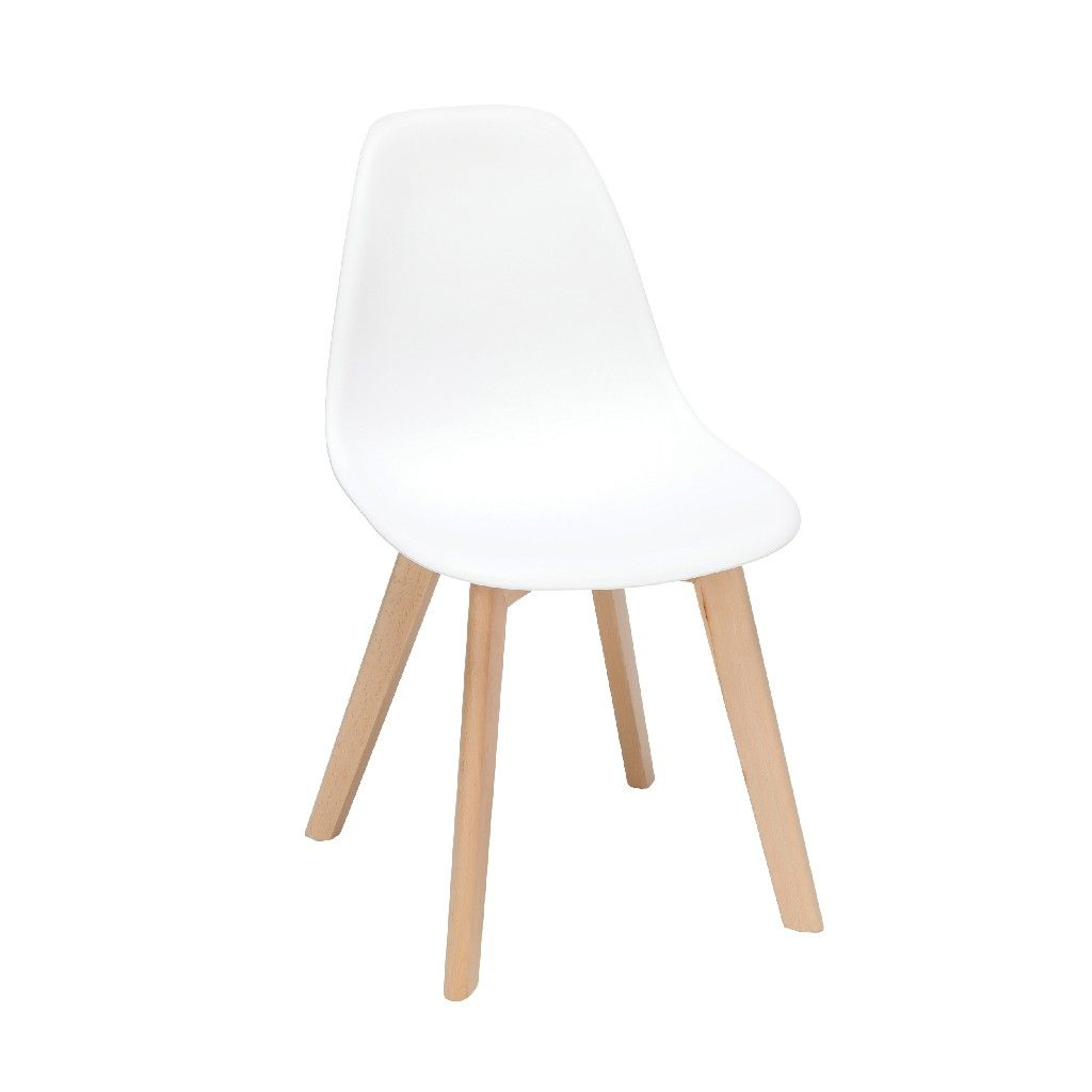 White Plastic Dining Chair 4pk Ofm 161 P18b Wht 4 In 2020