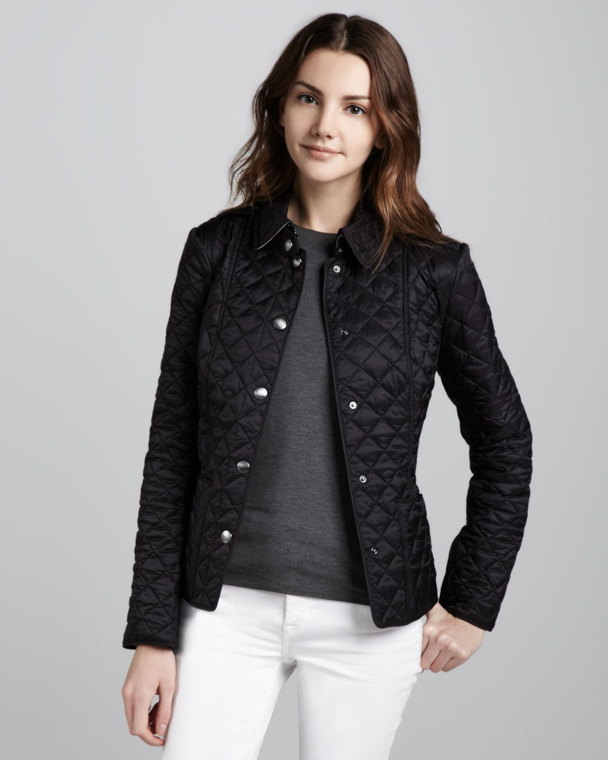 Burberry Brit Heritage Quilted Jacket | Fashion Finds | Pinterest ... : diamond quilted jacket burberry - Adamdwight.com