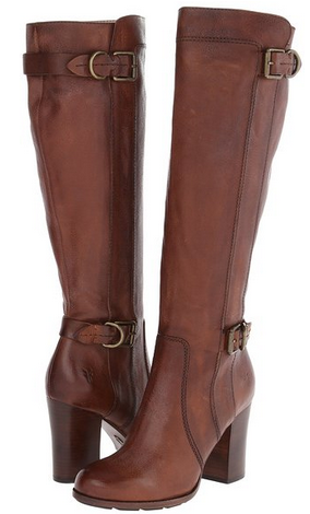 Ladies Clarks Maymie Stellar Black Leather Casual Knee Length Zip Up Boots