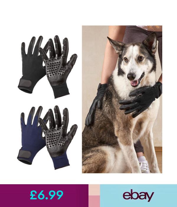 Grooming Pet Dog Bath Comb Cleaner Grooming Gloves Brush Hair