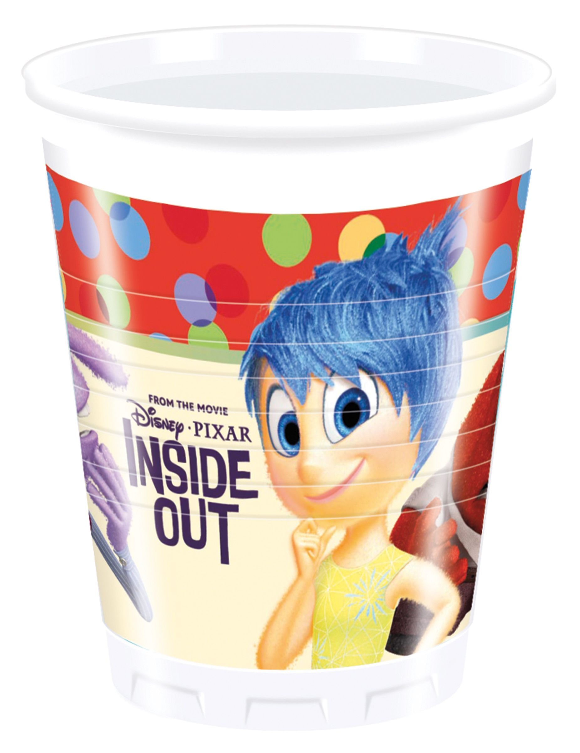 8 Inside Out plastic cups on VegaooParty, shop …
