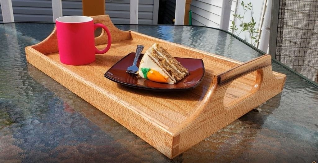 Pin by David Marsh on woodworking projects Serving tray