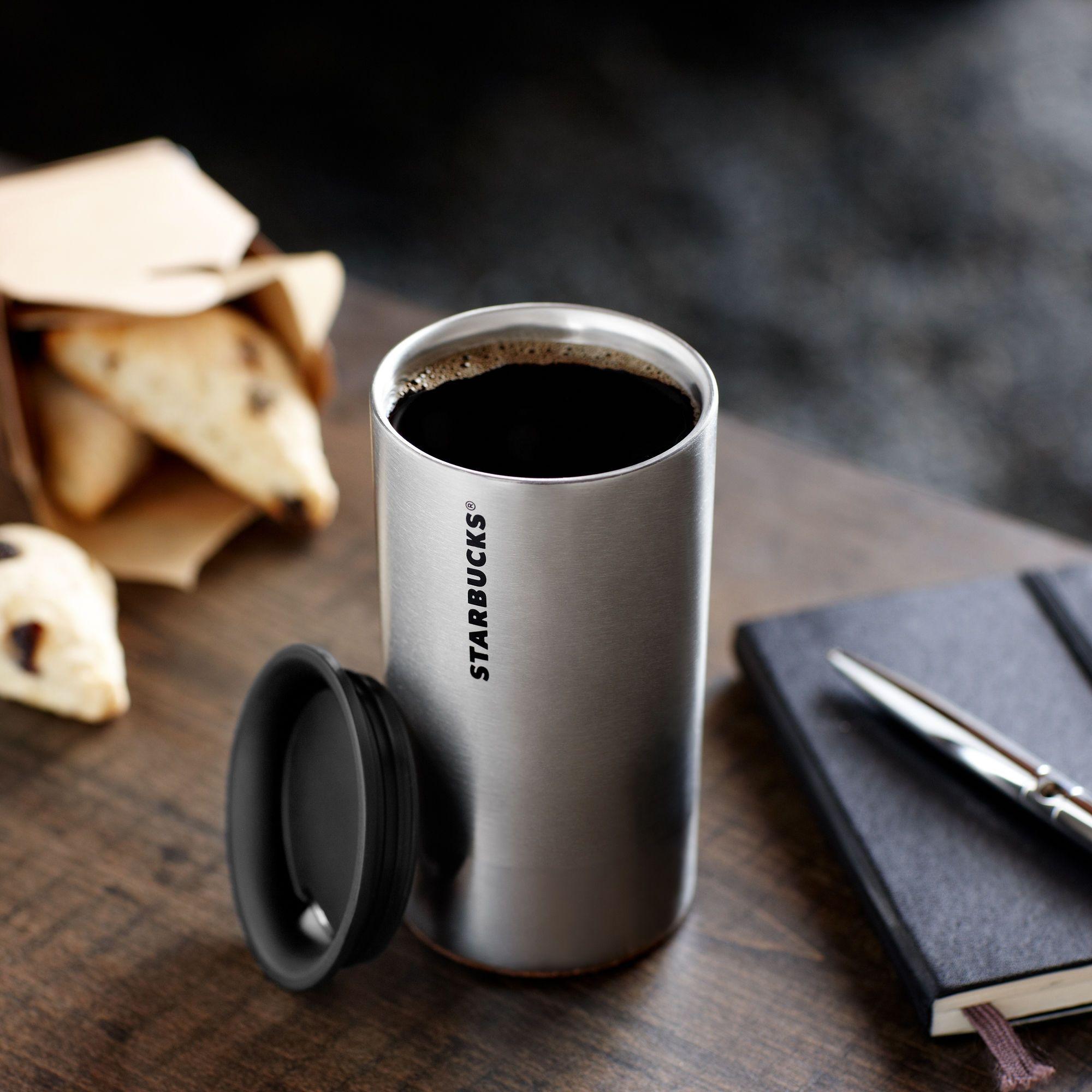 Stainless Steel Coffee Travel Mug Starbucks