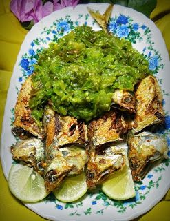 Langkah Mudah Cara Memasak Ikan Kembung Goreng Sambal Ijo Yang Enak Makanan Ikan Resep Ikan Resep Makanan