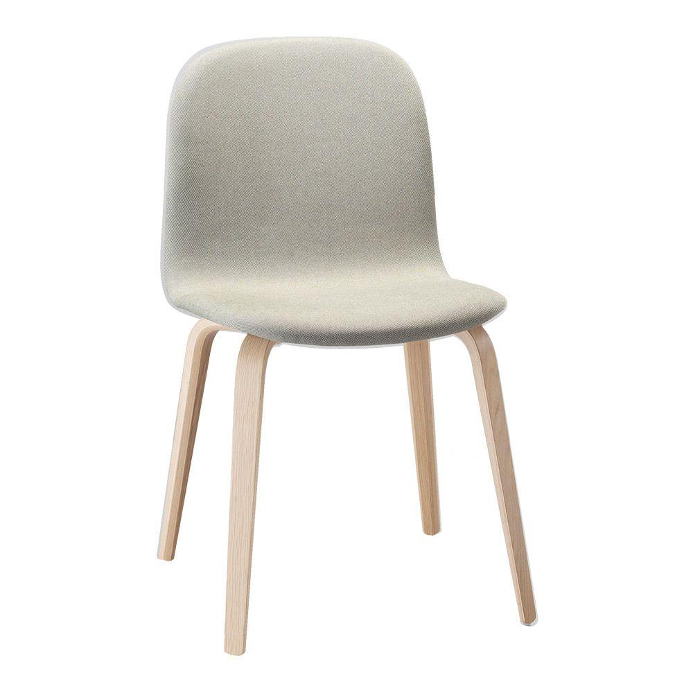 Muuto Visu Chair With Wood Frame Fabric Shell Wood Chair Interior Design Furniture Chair