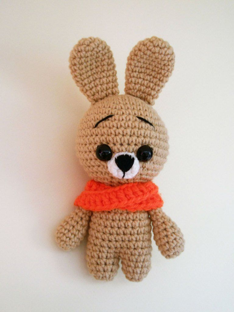 Free crochet animal patterns - bunny   crochet toys   Pinterest ...