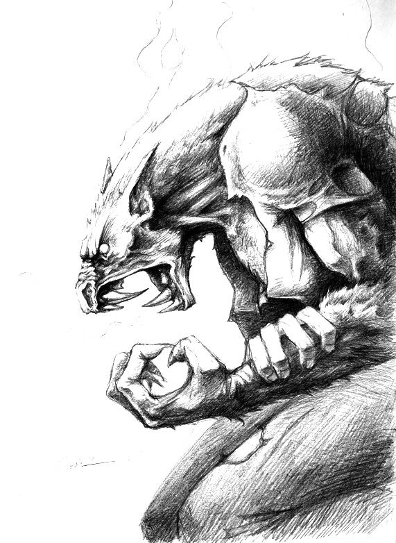 Image result for dibujo de un lobo a lapiz calavera rock for Calavera lobo