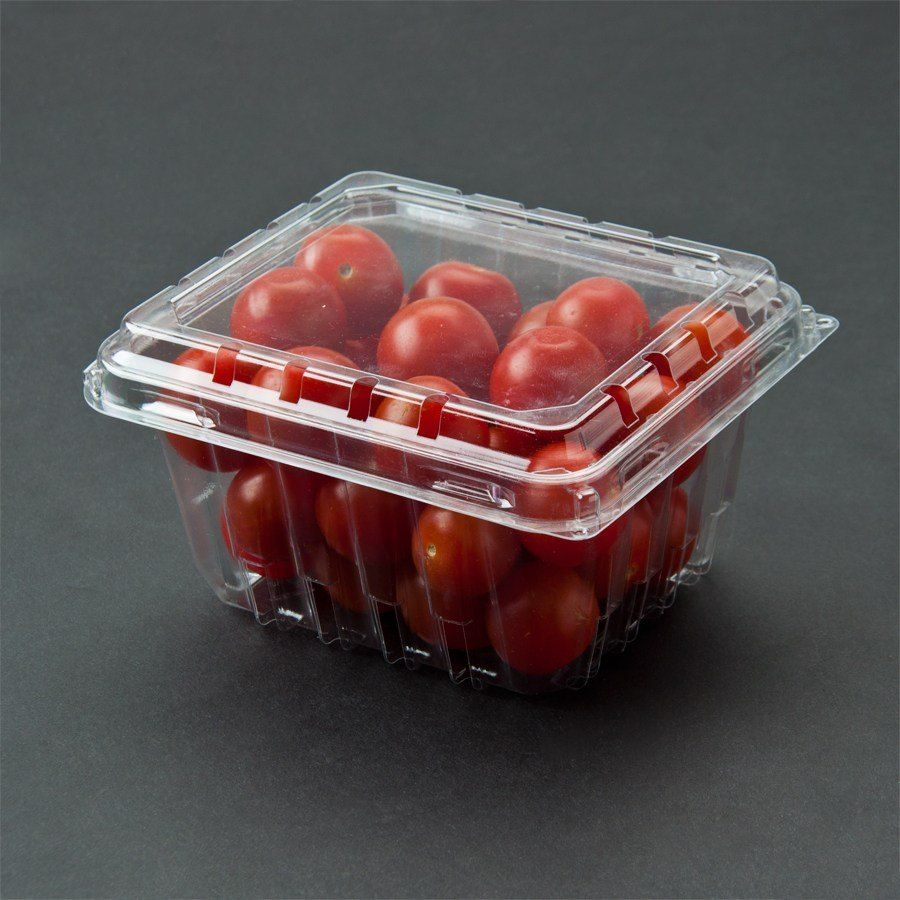 Pactiv 1 Pint Vented Clamshell Produce Berry Container 516 Case Produce Containers Berries Produce Storage Containers