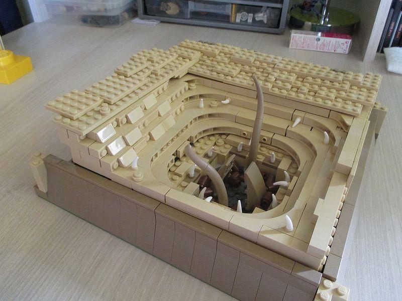 Sarlacc Pit #lego | Lego ideas | Lego star wars, Lego