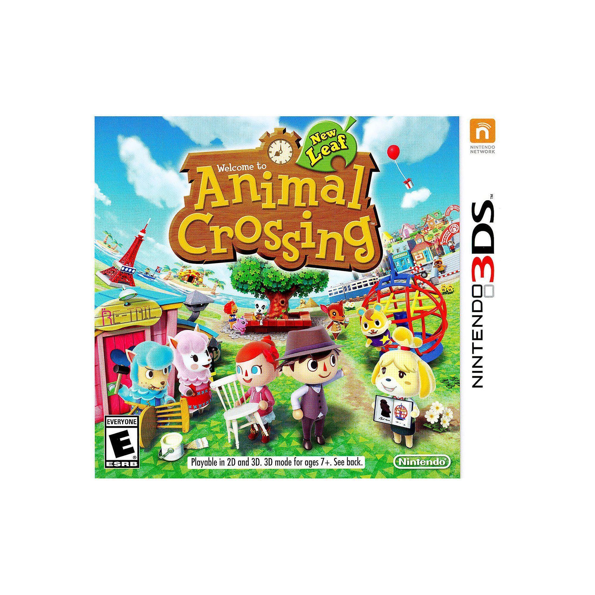 Animal Crossing New Leaf For Nintendo 3ds Multicolor Productos  # Muebles Festivos Animal Crossing