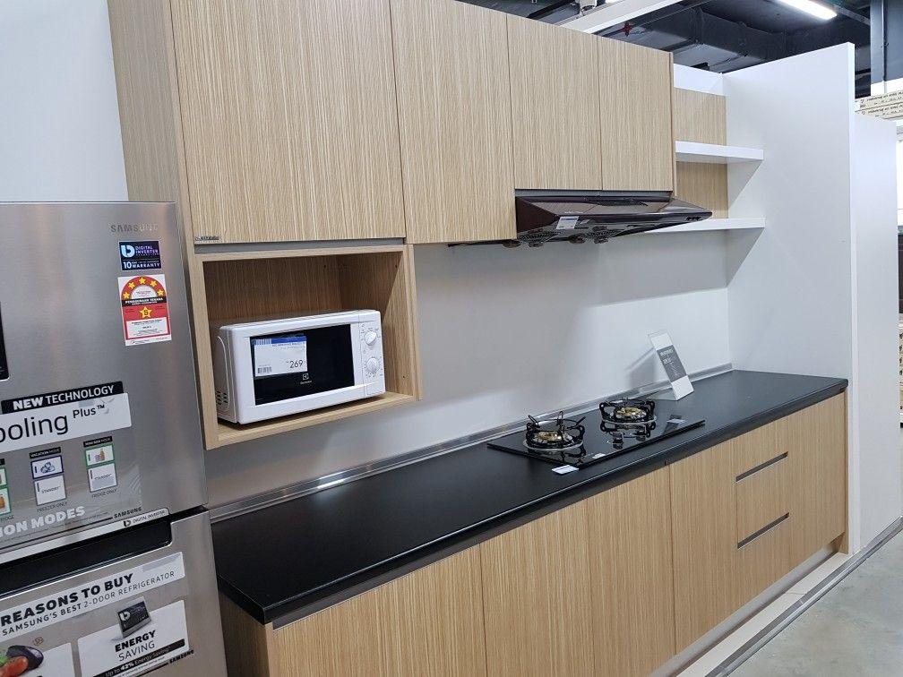 Trend Kabinet Dapur Gabungan Warna Digemari Serendah Rm 5000 Kitchen Cabinets Home Decor Kitchen
