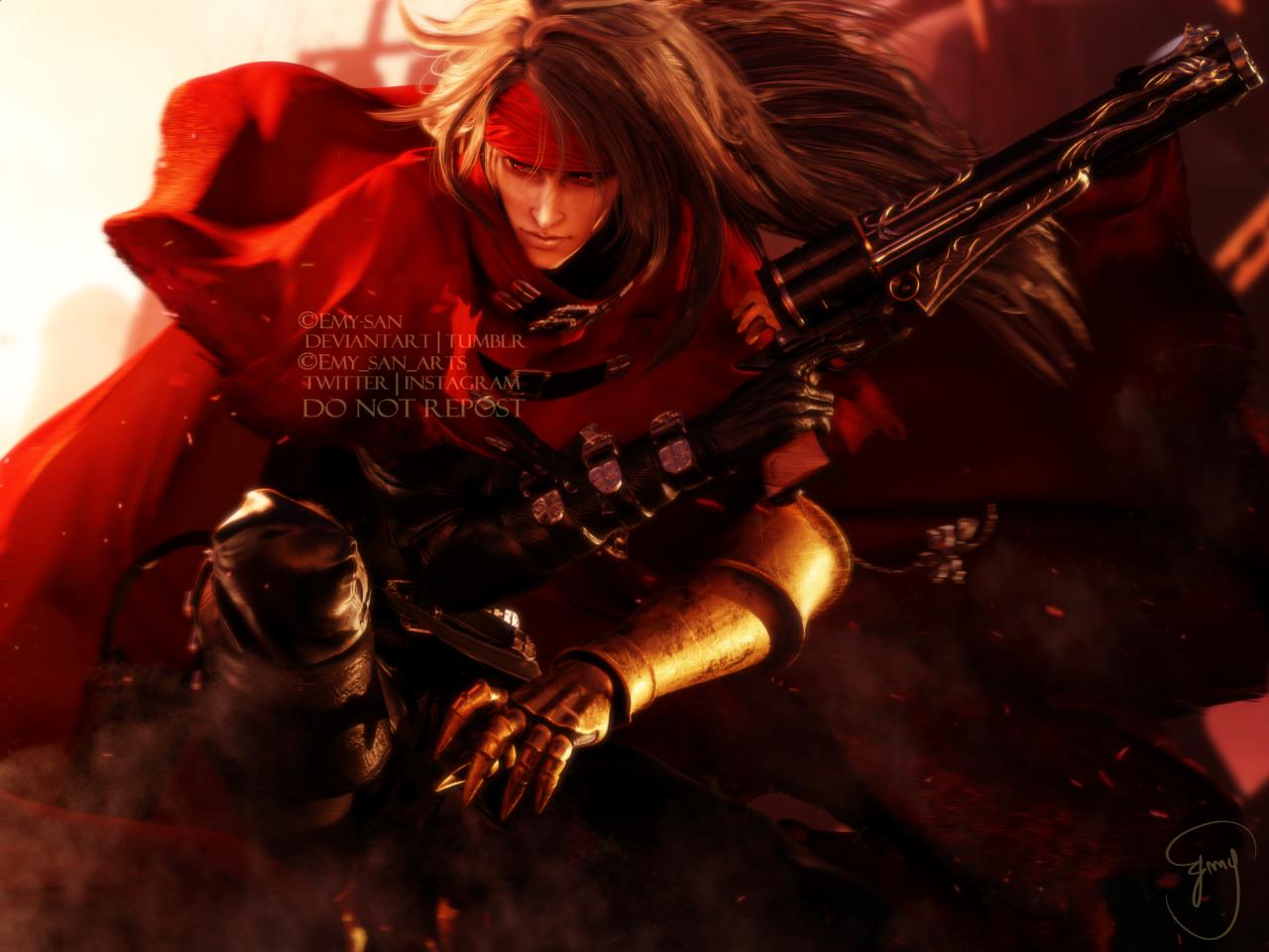 Emy S Blog Vincent Valentine Vincent Valentine Sans Art Final Fantasy Vii Remake