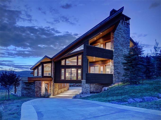 Modern Contemporary Masterpiece Park City Utah Summit