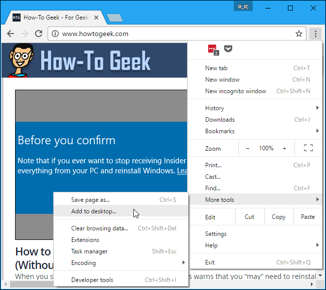 How To Add Website Links To The Windows 10 Start Menu Windows 10 Windows Ads