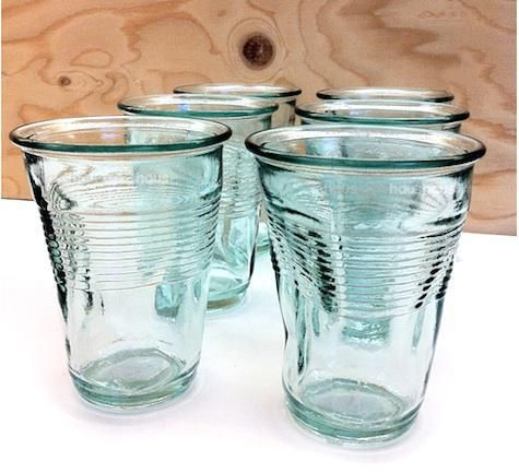 Crinkled Glass ガラス 器 ガラス工芸 食器