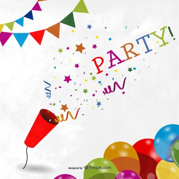Fundo colorido do partido Party background Colorful party and