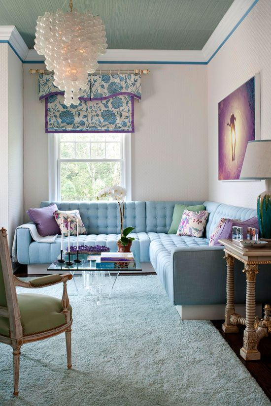 For a small space: 2011 Hampton Designer Showhouse: First Floor - Traditional Home