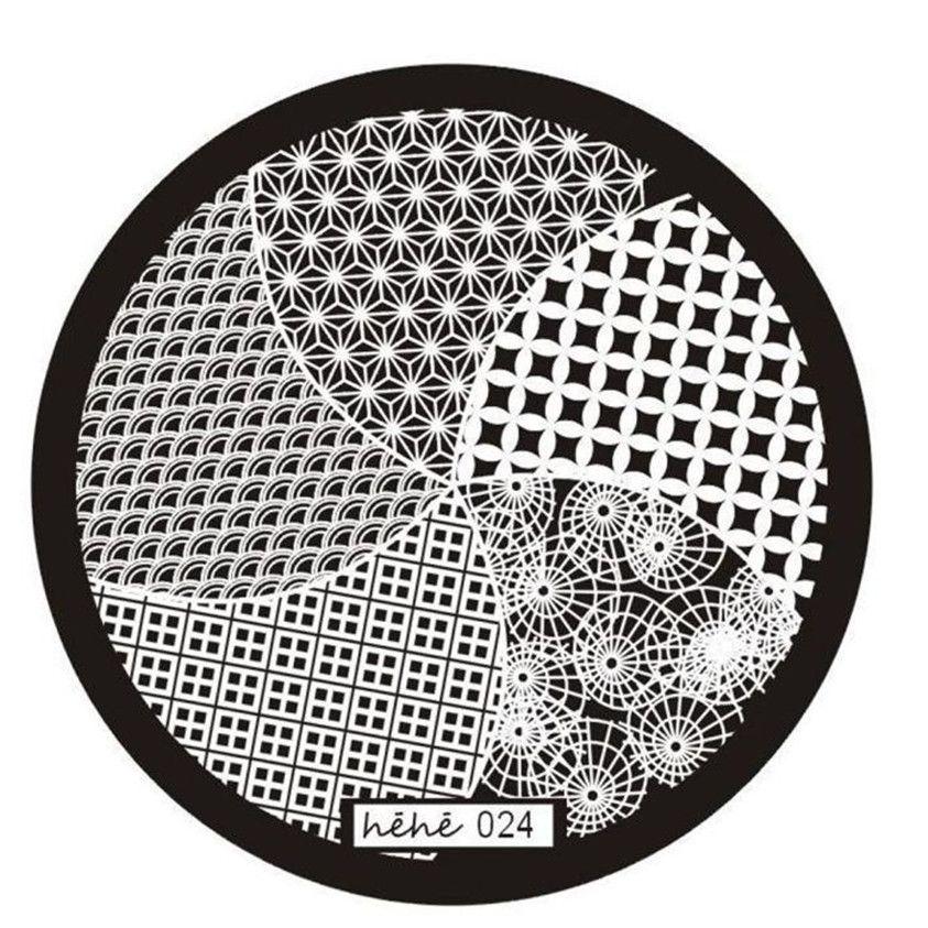 Nail Art Imagen Placas Estampación Sello Manicura Plantilla Jeje Serie de la Belleza para Las Mujeres Dropship