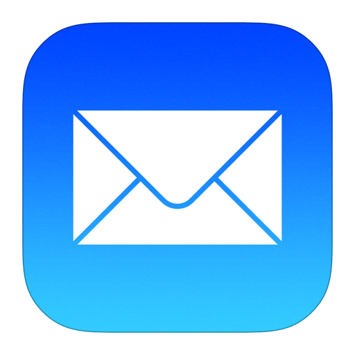 Mail Icon iOS 7 PNG Image Mail icon, App logo, Paint app