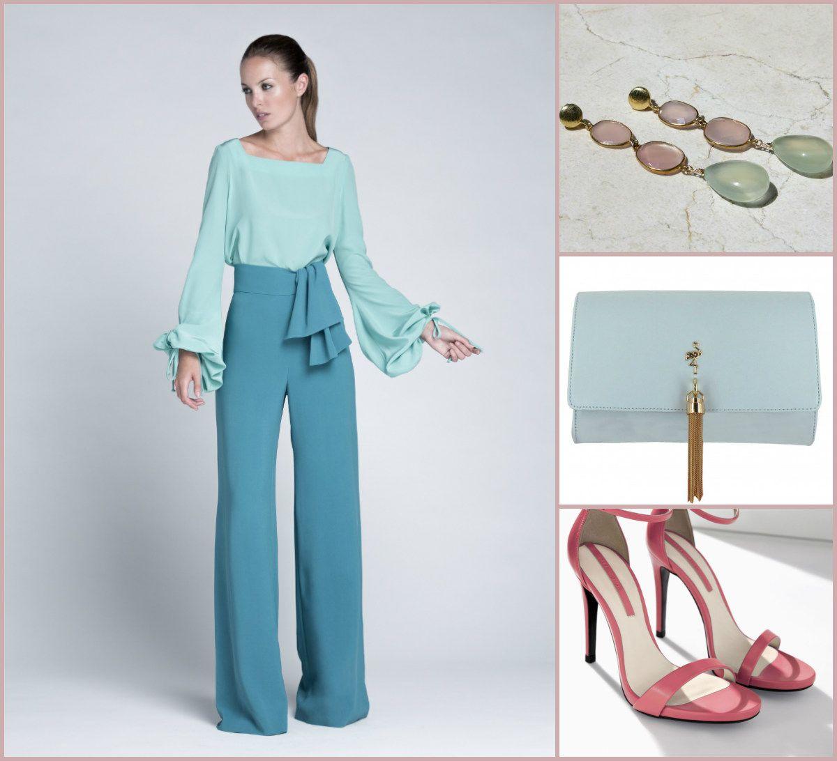 Invitadas de Primavera: Dos piezas de Colour Nude, sandalias de Zara ...
