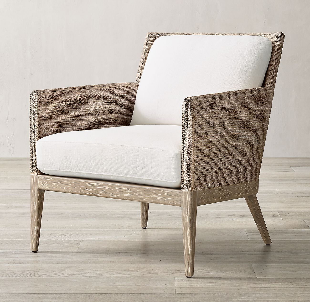 Marisol Seagrass Track Arm Chair in 2020 Upholstered