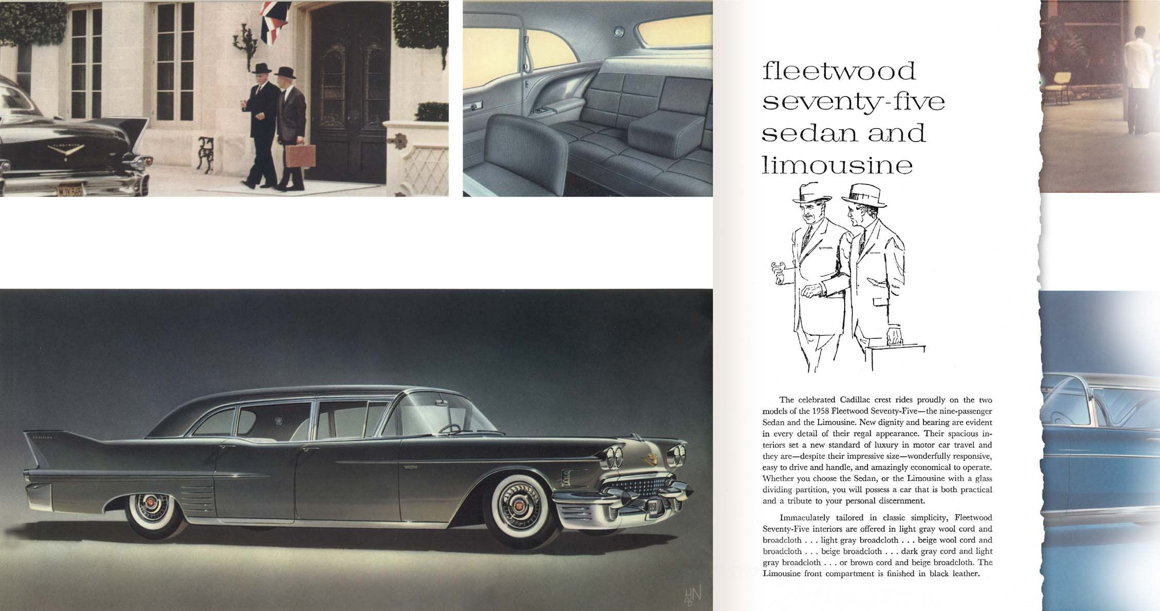 1958 Cadillac Fleetwood 75 Sedan