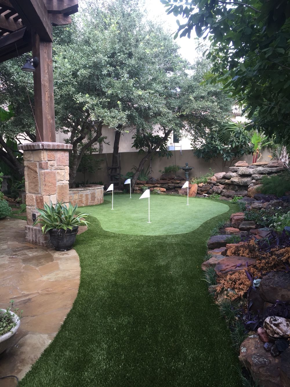 Artificial putting green by southwest greens of san