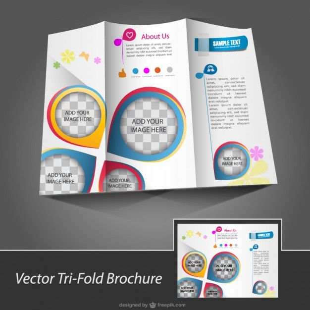 Brochure Template For Download Free Vector More Free Vector