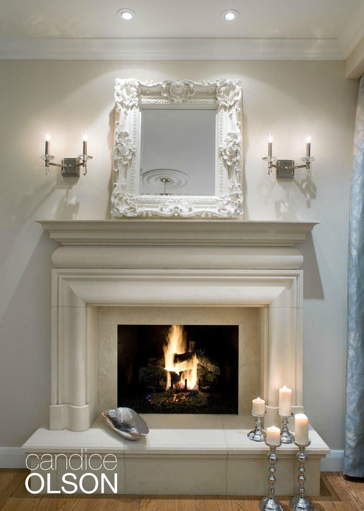 the claire cast stone fireplace mantel and overmantel bring elegance