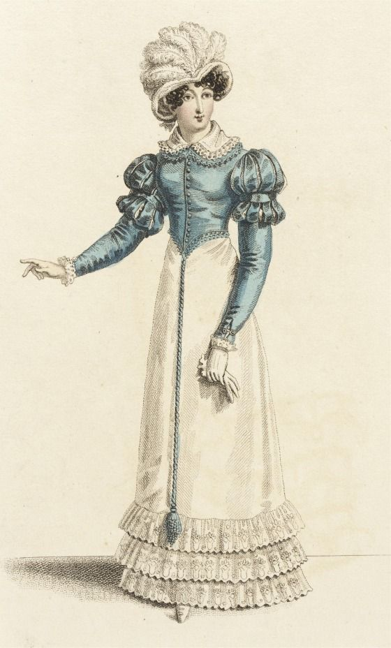 fashion plate parisian carriage dress john bell england 1811 1895