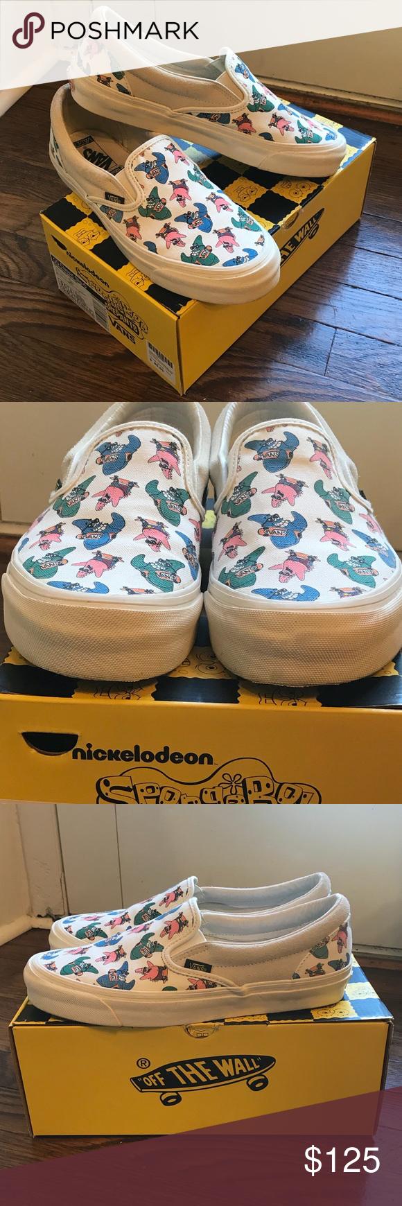 spongebob vans release time