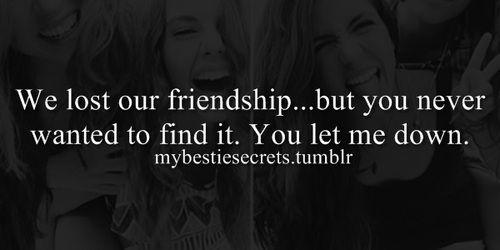 bestie secrets secret confession lost friendship never