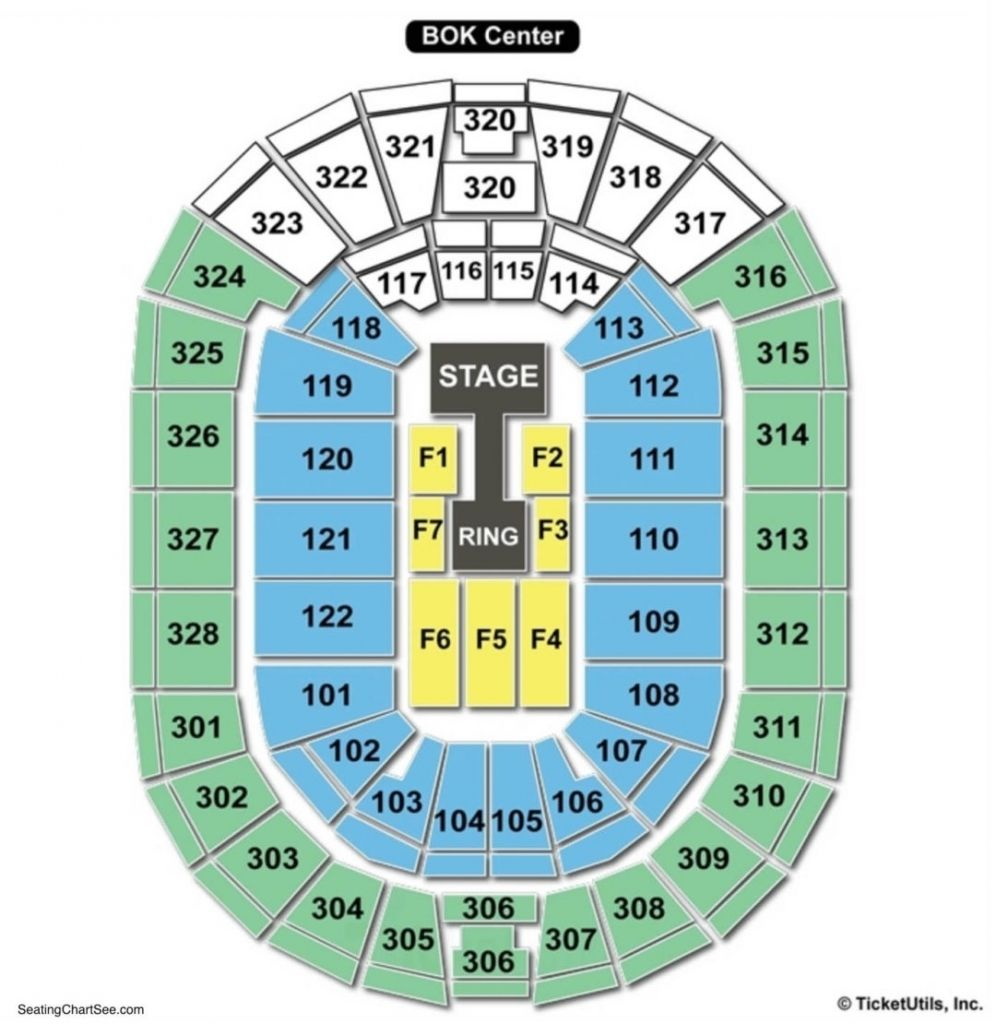 Bok Center Seating Chart Seating Charts Tickets pertaining ...