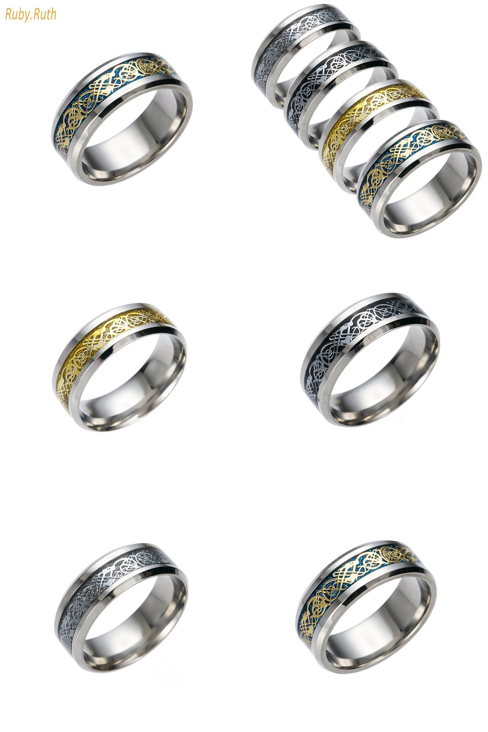 Visit to Buy] 2017 Ring of Power Gold Black The Lord of Rings