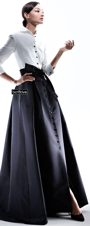Carolina Herrera Taffeta Gown - Neiman Marcus | Plus Size Fashion ...