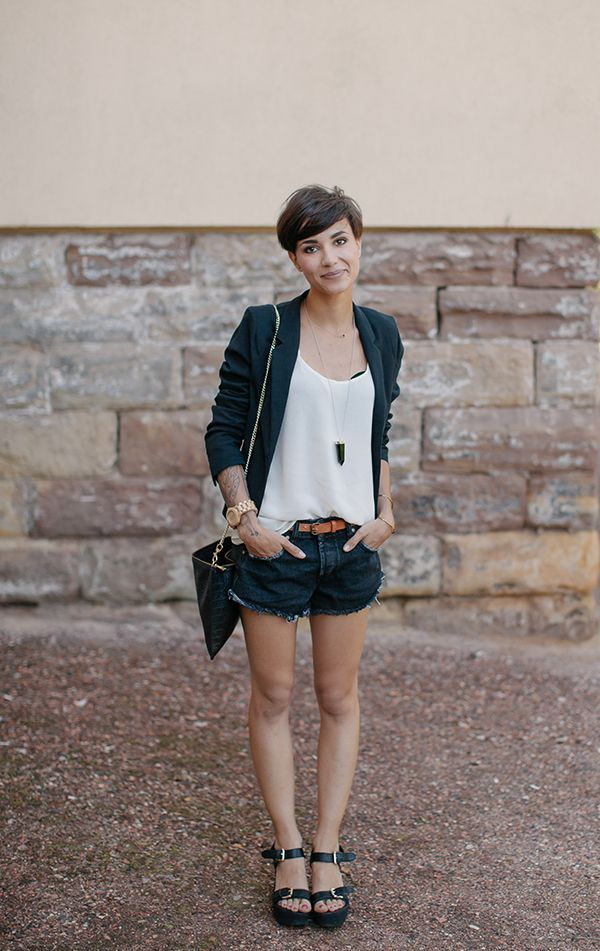 Outfits For Girls With Short Hair