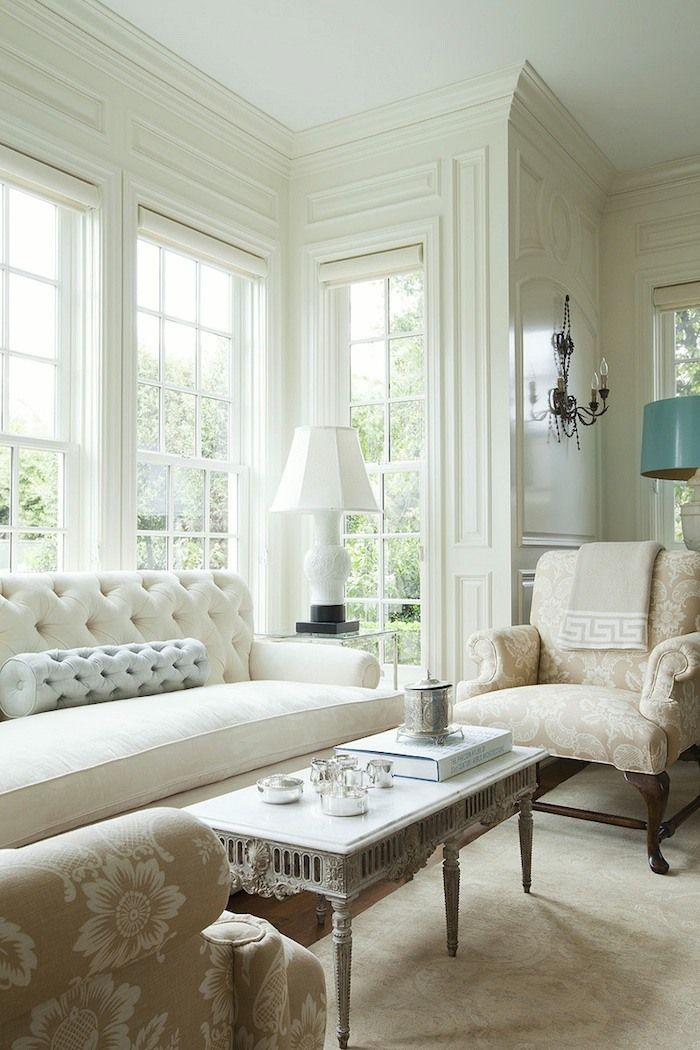 The only six white paint trim colors you ll need living - What do you need to paint a room ...