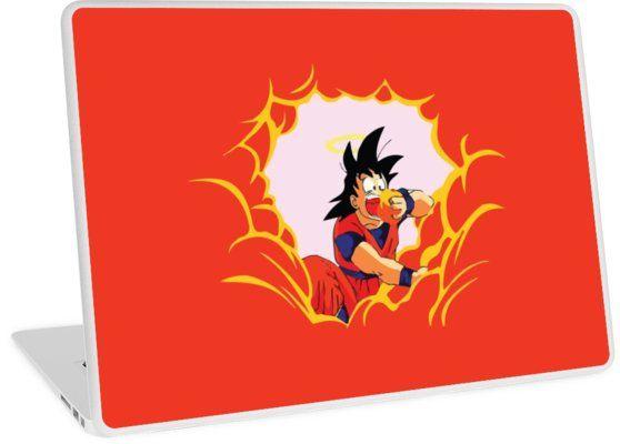 Goku Eating Clouds Laptop Skins Goku Dragonball Dragon