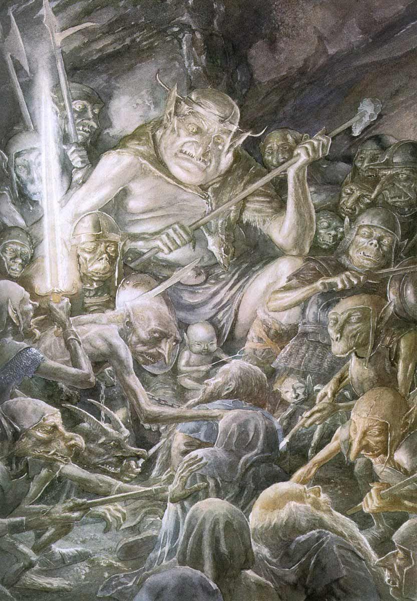 Alan Lee The Goblin King