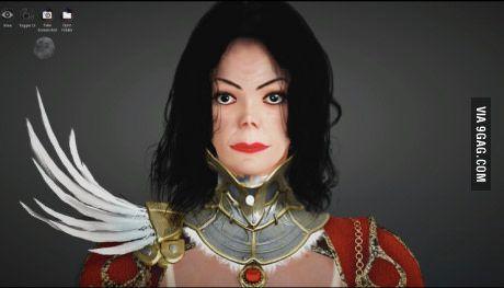 Somebody recreated Michael Jackson in Black Desert Online