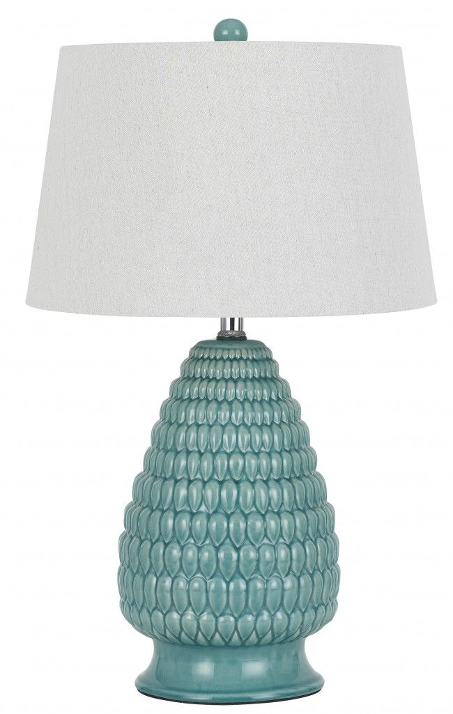Amazing CAL Lighting BO 2634TB 2 CERAMIC 2 Light Table Lamp Contemporary - Model Of designer table lamps Awesome