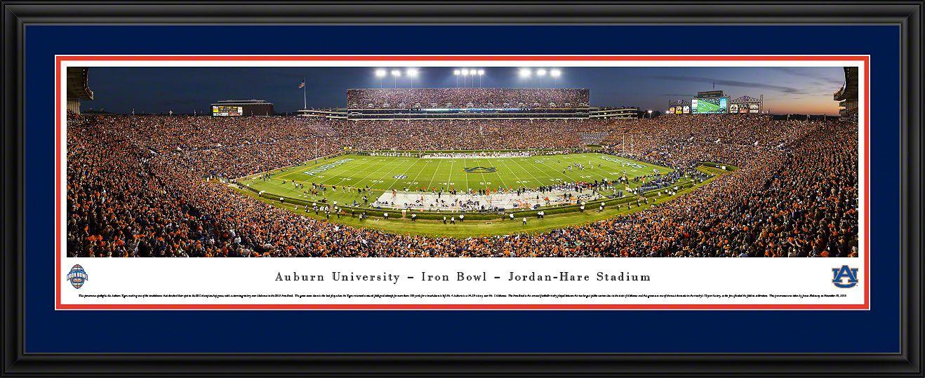 Auburn Tigers Football Panoramic Jordan Hare Stadium Picture
