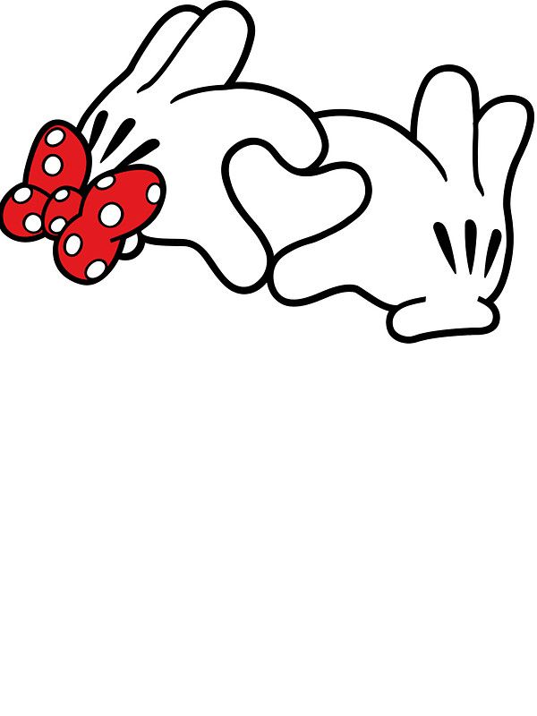 Pegatina Manos Comicas Formando Un Corazon De Seanmilks En 2021 Mickey Mouse Y Amigos Imagenes Minnie Artesanias De Ratones